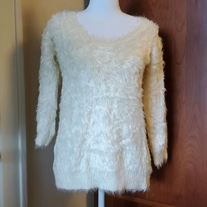Apt 9 eyelash sweater size small